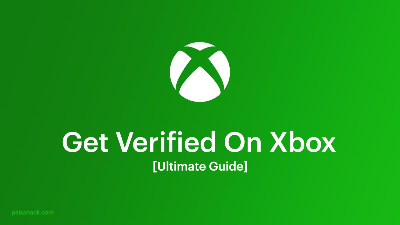how to get verified on xbox