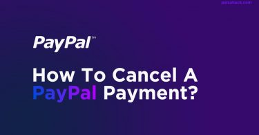 how to cancel PayPal Payment